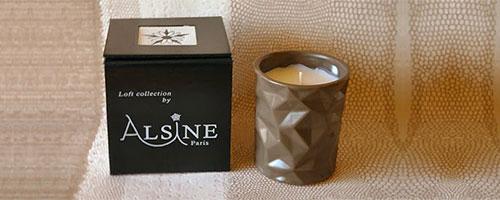 ASLYNE bougies parfumées, parfums d'ambiance...