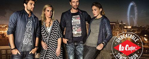 LEE COOPER jeans, chemises pulls femmes et hommes...