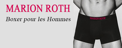 MARION ROTH boxer hommes