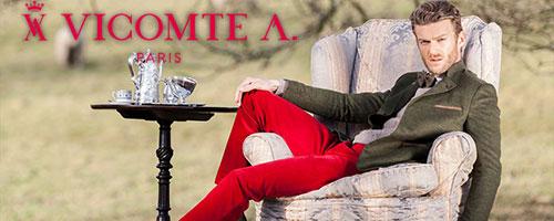 VICOMTE-A confection hommes...